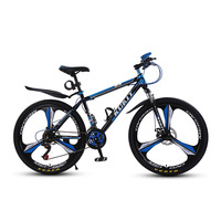 Mountain Bike Three Blade One Wheel Shock Absorber Boys And Girls Adult Mountain Bike.