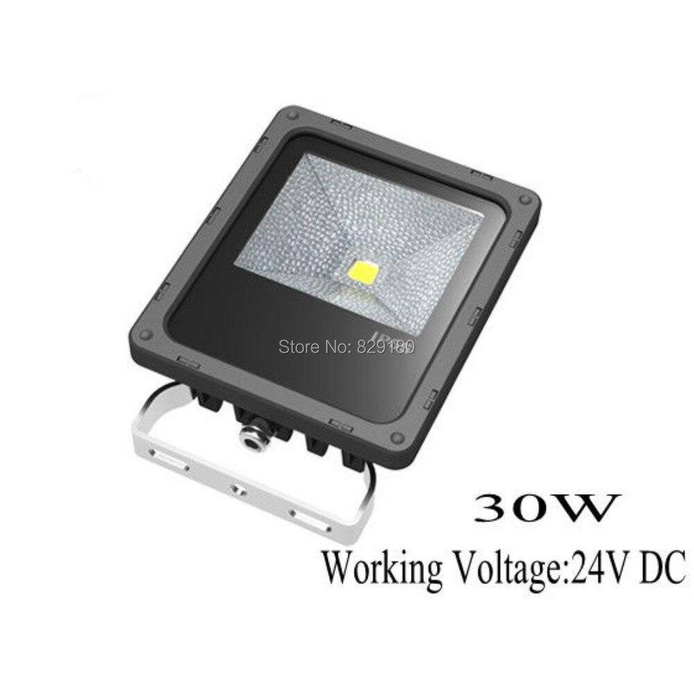 20x30 w DC 24 V LED projecteur extérieur lampe projecteur étanche IP65 blanc chaud/froid