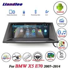 Liandlee для BMW X5 E70 2007~ Android оригинальная автомобильная система радио Wifi gps карта Navi навигационный экран Мультимедиа без DVD плеера