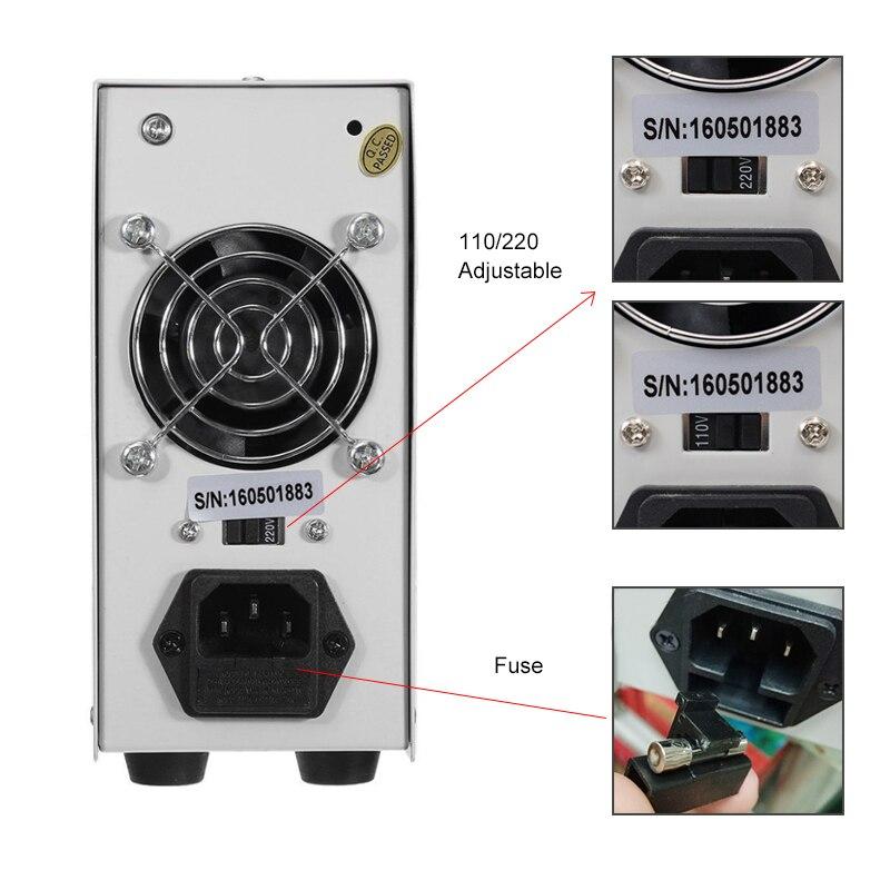 LW 3010D laboratoire réglable DC alimentation 30V 10A 4 chiffres affichage réglable commutation alimentation ordinateur portable téléphone réparation - 5