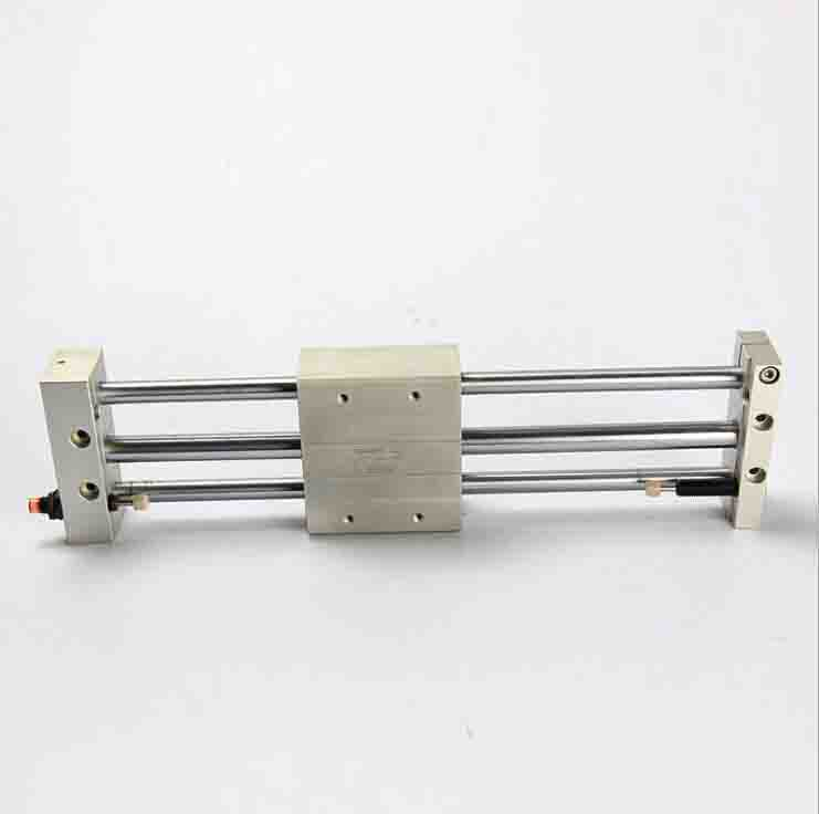 bore 20mm X 200mm stroke SMC air cylinder Magnetically Coupled Rodless Cylinder CY1S Series pneumatic cylinder cy1s 10mm bore air slide type cylinder pneumatic magnetically smc type compress air parts coupled rodless cylinder parts sanmin