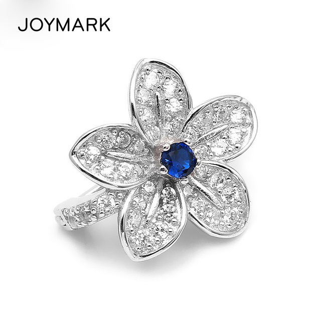 Fine Jewelry Accessories Lily Flower Genuine 925 Sterling Silver Zircon Clasps For Double Row  Pearl Necklace SC-CZ001