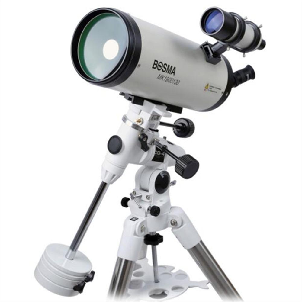 Bosma 1301900 Maca Astronomical Telescope Equatorial Mount HD High-definition Professional-grade Fever Deep Space Stargazing