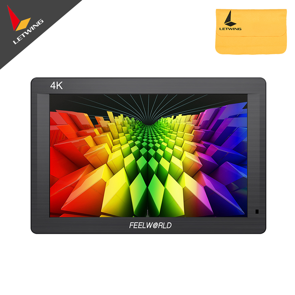 FEELWORLD FH7 7 4K On-camera Monitor with HDMI Input Output IPS 160 Degree Full HD 1920*1200