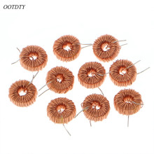 цена на OOTDTY 10 Pcs 470UH 3A Toroidal Inductor Magnetic Inductance Wire Wound Coil For LM2596