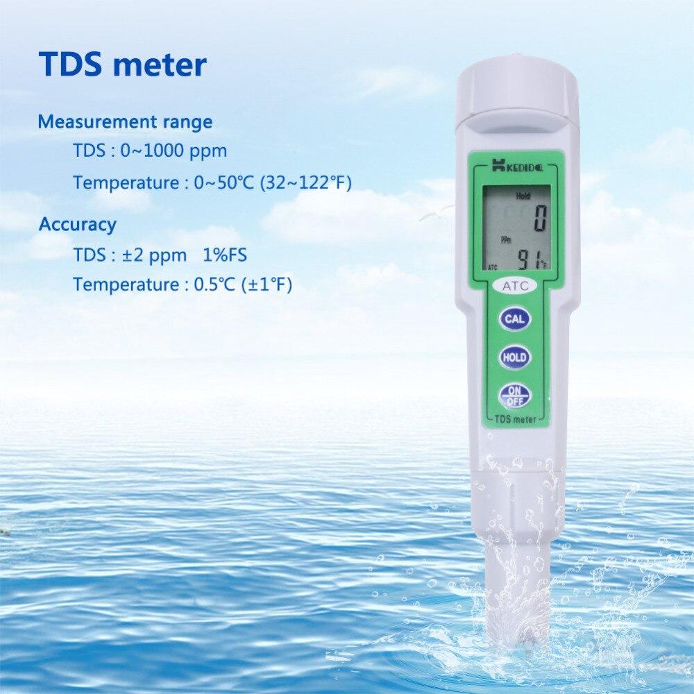 CT-3060 Portable Pen Drinking Water Tester Tap Water Hardness Test TDS Test Pen coronwater household municipal drinking water test kit drinking water filter test mwt 05