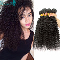 4 Bundles Indian Kinky Curly Virgin Hair 100% Raw Indian Virgin Hair Indian Curly Virgin Hair Bundles Human Hair Extensions