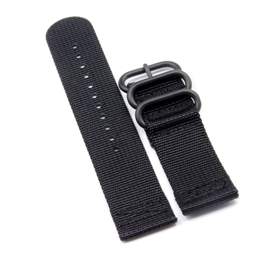 26mm For Garmin Fenix3 Fenix5x Fenix3 HRWatch Bands Zulu Nylon Strap Replacement Watch Band Tools Watchband in Watchbands from Watches