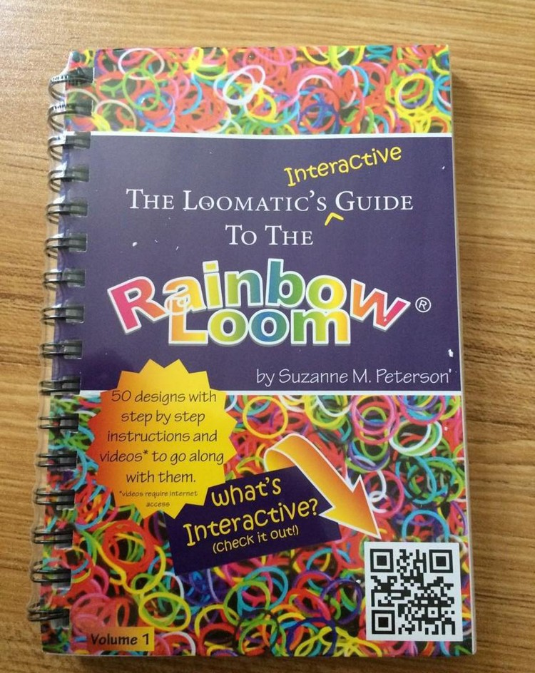 diy loom bands book the loomatic s interactive guide loom book 50 rh aliexpress com