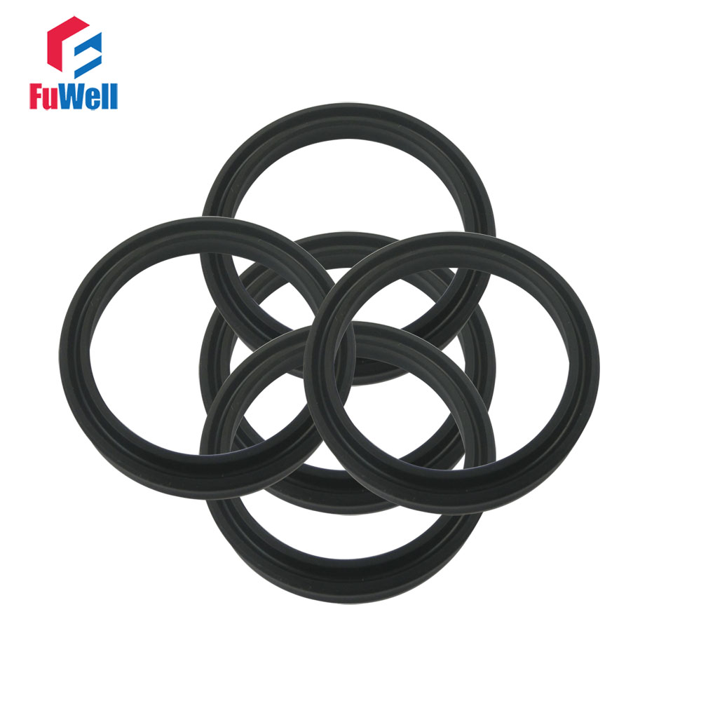 NBR Black Hydraulic Pump Oil Seal 80x90x9mm USH Piston Seal Ring For Oil Cylinder Hydraulic Oil Seal 85x100x9/112x125x9mm free shipping 103 10 household booster pump mechanical seal oil seal water seal pump accessories