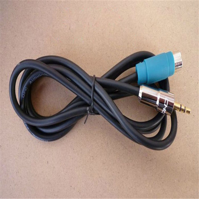 car styling car accessories 3 5mm aux input cable for alpine kce Alpine Wiring Harness Color Code car styling car accessories 3 5mm aux input cable for alpine kce 236b cde