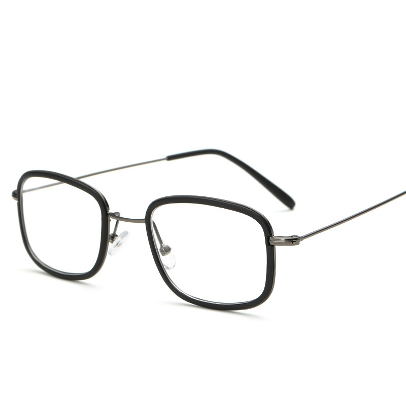New Fashion Trend TR90 Alloy Square Eyewear Frame Light Cosy Men Women Optical Eyeglasses Computer Glasses Spectacle Frame