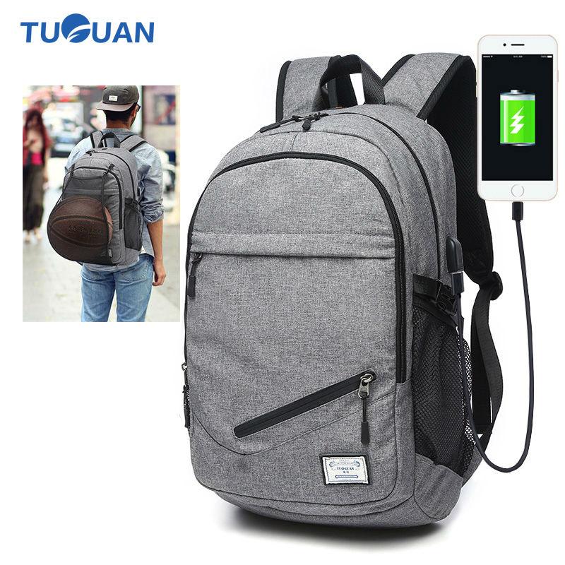Tuguan Men Laptop Fashion Backpack Bag College Student School Backpacks Designer Brands Teenagers Casual Travel Daypack Bags