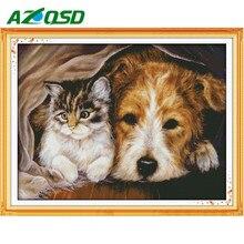 Кошка с собакой схема