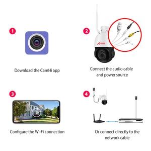 Image 4 - Anran 1080 720p ptz ip カメラ屋外防水スピードドームカメラ 20 × ズームレンズ 60 メートル赤外線ナイトビジョンセキュリティカメラサポート onvif