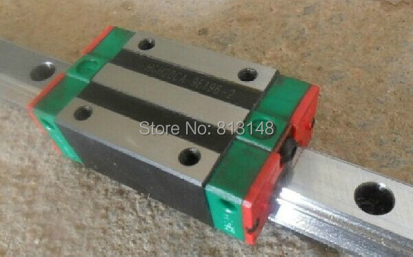 1 piece 500mm length linear guide rails 20 and 2 pcs linear block,slider HGH20CA for cnc machines large format printer spare parts wit color mutoh lecai locor xenons block slider qeh20ca linear guide slider 1pc