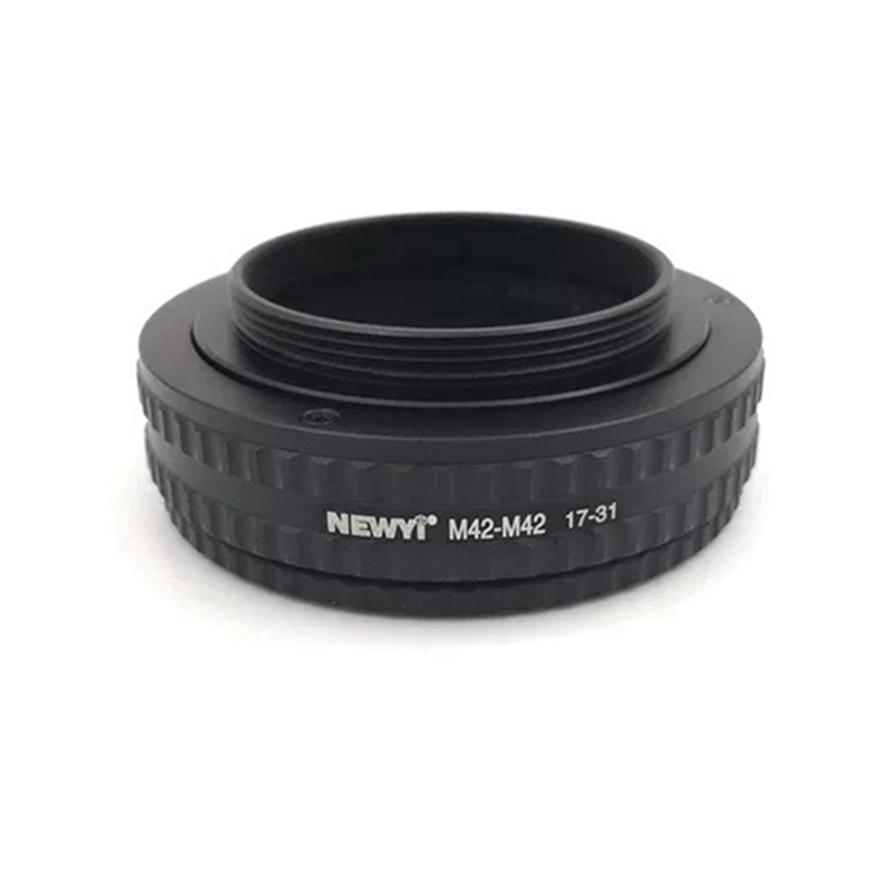 Image 5 - NEWYI M42 M42(17 31mm) Mount Adjustable Focusing Helicoid Adapter 17 31mm Extension accessory-in Lens Adapter from Consumer Electronics