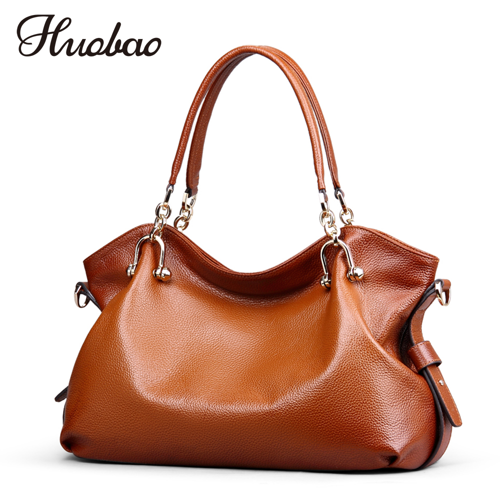 Women Handbags Genuine Leather Bag 100% Cow Leather Vintage Ladies Shoulder Bags Luxury Designer Women Crossbody Messenger Bags ly shark crocodile cowhide leather women messenger bags luxury handbags women bags designer crossbody bags women shoulder bag
