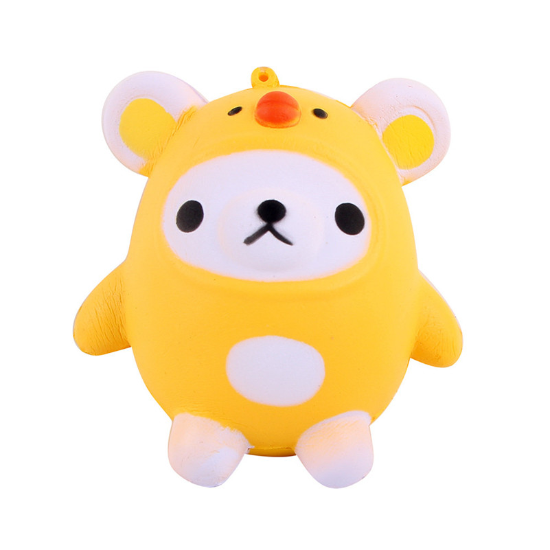 Squishy Kawaii Cute Bear Jumbo Slow Rising Squeeze Toy Collection Cure Gift   Rising Wipes Anti-stress Toys A1