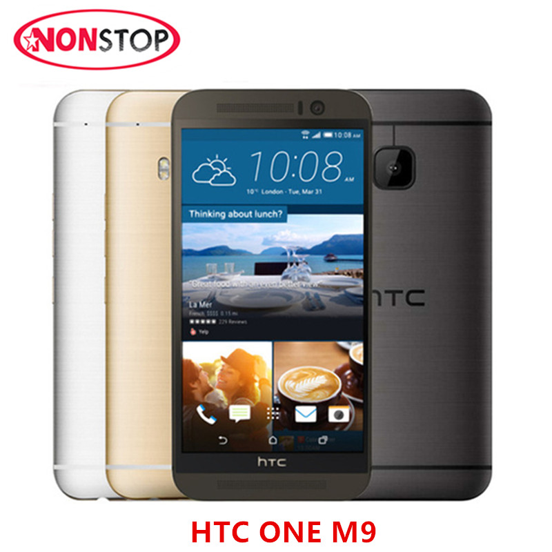 M9 Original HTC ONE M9 Unlocked Mobile phone Octa core 3GB RAM 32GB ROM 20MP Camera 3G&4G WIFI GPS htc m9 Refurbished cell phone(China)