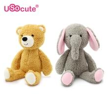 Usocute kawaii állatok töltött babák plüss játékok gyerekeknek lányok baba játékok peluch brinquedos juguetes mackó / Elephant / panda