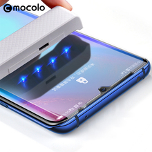 for Huawei P30 Pro Screen Protector Mocolo Full Liquid Glued 5D Curved UV Tempered Glass Mate 20