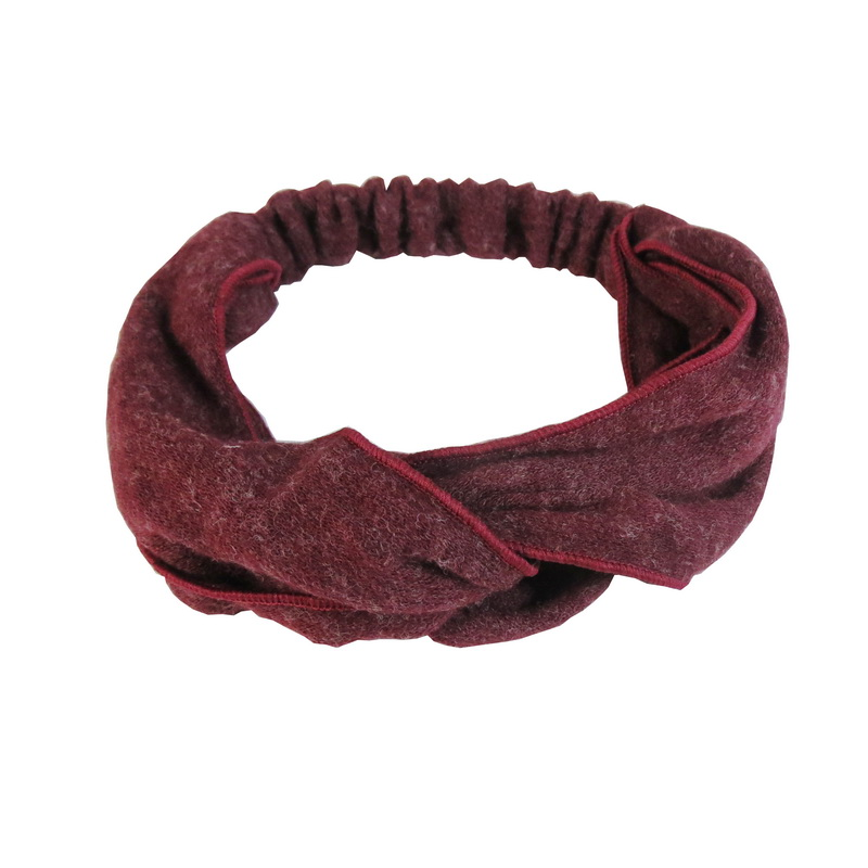 Hair Accessory Fashion Woolen Hair Band Headband Bandanas Elastic Soft HeadbandS Hair Accessory Solid Intersect Headbands