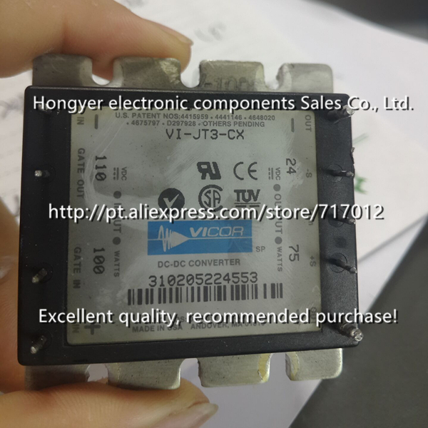 Free Shipping VI-JT3-CX DC/DC: 110V-24V-75W No New(Old components,Good quality)  ,Can directly buy or contact the seller. vi 26f cy vi 26f cx vi 26f ey