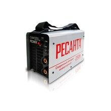 Аппарат сварочный инверторный РЕСАНТА САИ 250 (Сварочный ток 10-250 А, макс.диаметр электрода 6 мм, продолжительность включения 70% 250A)