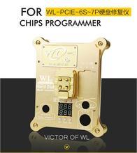WL PCIE Flash NAND Programador PRO icloud ic para el iphone 7 P 7 6SP 6 S Placa Base de Reparación de DISCO DURO Serial Number SN herramienta