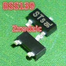 10pcs BSS139 SOT-23 SOT BSS139 H6327 SMD BSS139H6327XTSA1 SOT23 New Original s9014 j6 sot 23