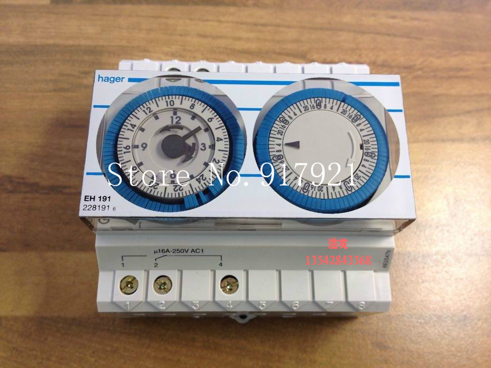 [ZOB] Hagrid EH191 timer switch 1 channel day / week cycle import control switch цена