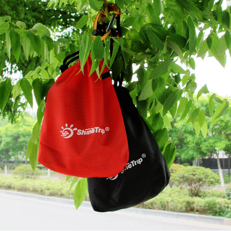 Outdoor Bundle Pocket Tent Pegs Bag Camping Accessories Wind Rope Nail Storage Pouch Cover Case Travell Supplies Accessory bag
