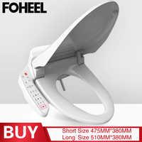 FOHEEL Neue Smart Wc Sitz Intelligente Elektrische Bidet Abdeckung Smart Bidet Heizung Wc-sitz Deckel Für Bad