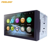 FEELDO 7inch Android 4 4 2 Quad Core Car Media Player With GPS Navi Radio For
