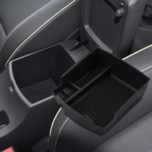 Para Hyundai Kona Encino 2017-2019 acessórios Apoio de Braço Consola Central Caixa De Armazenamento Recipiente Bin Tray Titular Estiva Tidying