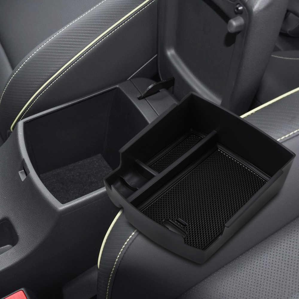 linfei Armlehnen-Aufbewahrungsbox F/ür Hyundai Kona Encino 2018 2019 Zubeh/ör Mittelkonsole Beh/älterbeh/älter Beh/älterhalter Verstauen Aufr/äumen