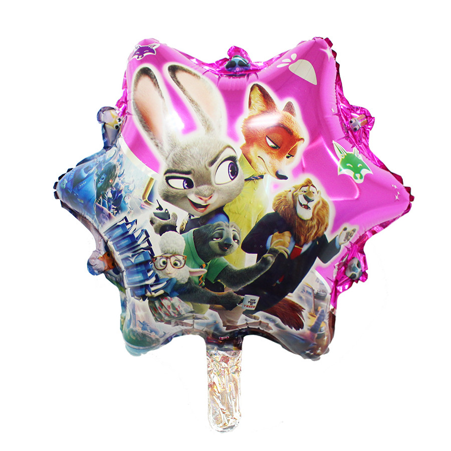 New <font><b>22</b></font> inch Wild animals city decoration aluminium film balloon <font><b>birthday</b></font> party wholesale wedding marriage room balloons globos image