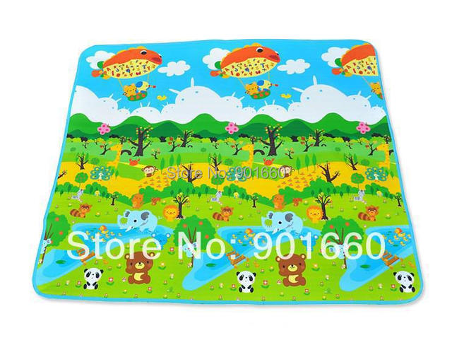 Bebê floresta e Crawl Mat Playmat 200 x 180 cm