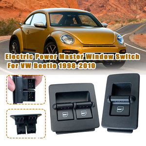 Car Electric Master Window Control Switch 1C0 959 855 A 1C0959855A For Volkswagen For VW Beetle 1998 1999 2000 2001 2002 - 2010