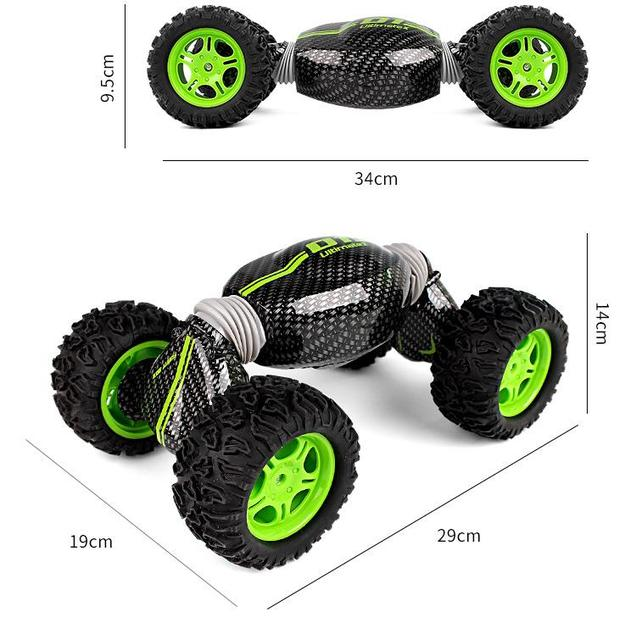 1:12 4WD RC Car Creative Off-Road Vehicle 2.4G One Key   Transformation Stunt Car All-terrain Electric Buggy Car Climbing Car