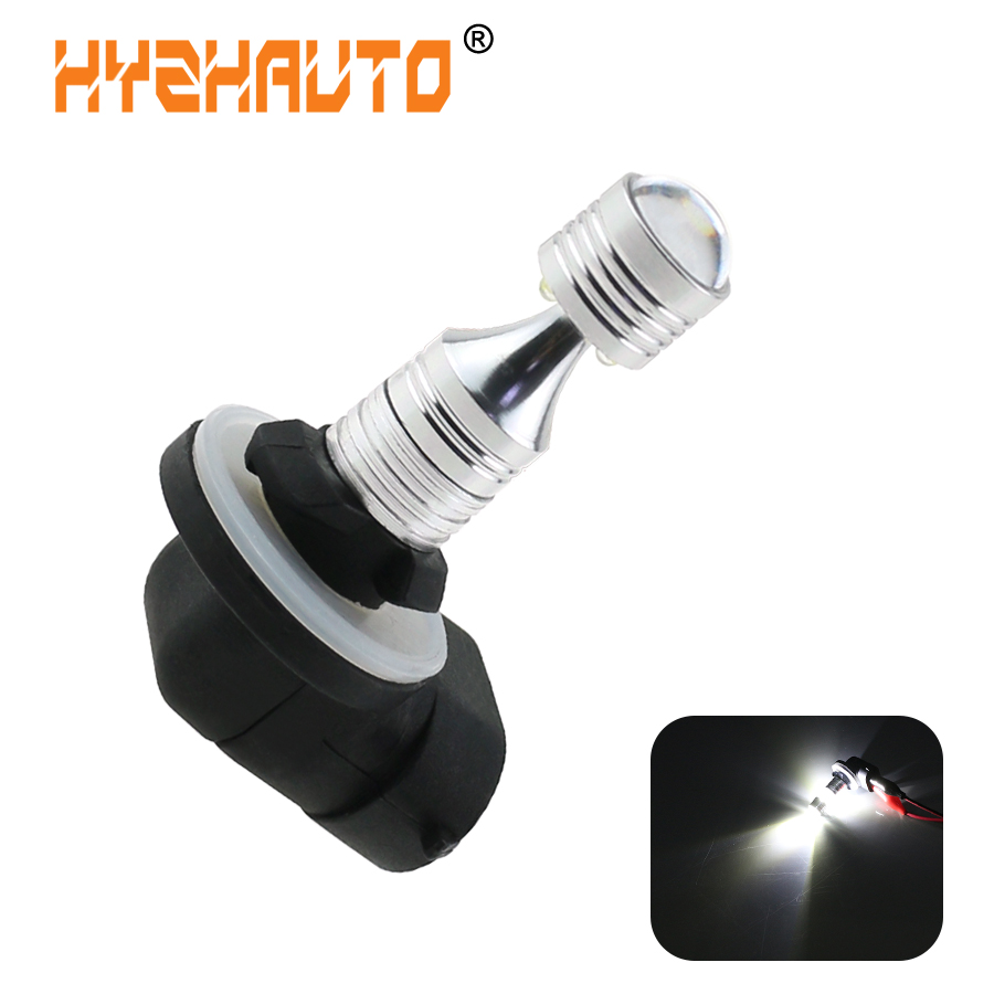 HYZHAUTO 1Pcs H27 881 880 H27W H27W2 LED Car Fog Lights 6-XBD 30W LED DRL White 6000K Auto External Driving Lamp 12V