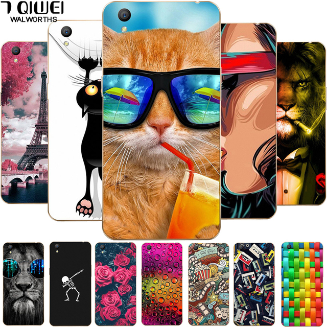 For Oppo A37 Case 5.0 inch Soft TPU Silicone Back Cover For Funda Oppo A37 A 37 A37M A37F Phone Case OPPOA37 Coque Animal Para