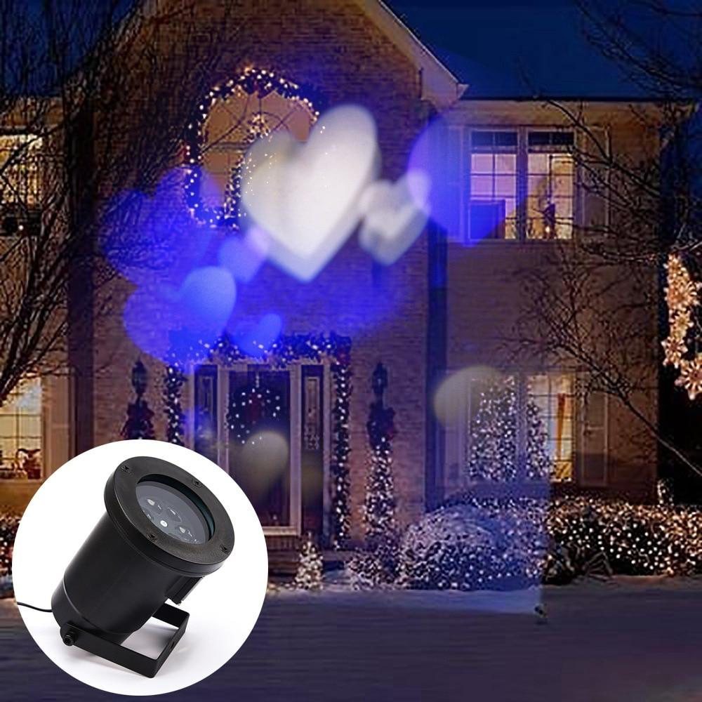 ФОТО The new LED lights outdoor waterproof lamp color love Christmas lights