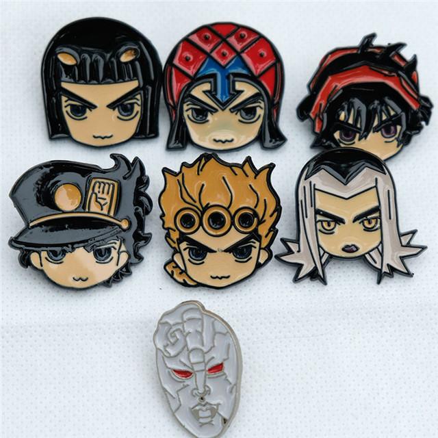 JOJOS Bizzare Adventure Pin Metal badge Hat