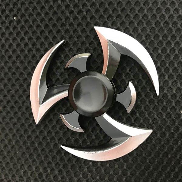 Metal Fidget Spinner Naruto Finger Spinner1