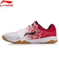 Li Ning Для мужчин Эволюция Обувь для настольного тенниса национальная спонсором команды Ma длинный удобный внутри Спортивная обувь Кроссовки