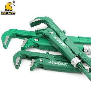 """Image 1 - Chave universal resistente de tubulação, tipo gancho de 3/4 """"/1""""/1.5 """"/2"""" alicate de chave inglesa ajustável, ferramentas manuais de encanamento"""