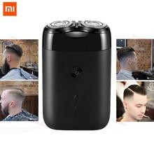 Neueste 2019 Xiaomi Mijia Elektrische Rasierer 2 Schwimm Kopf Tragbare Wasserdichte Rasierer Rasierer USB Aufladbare Stahl für Männer