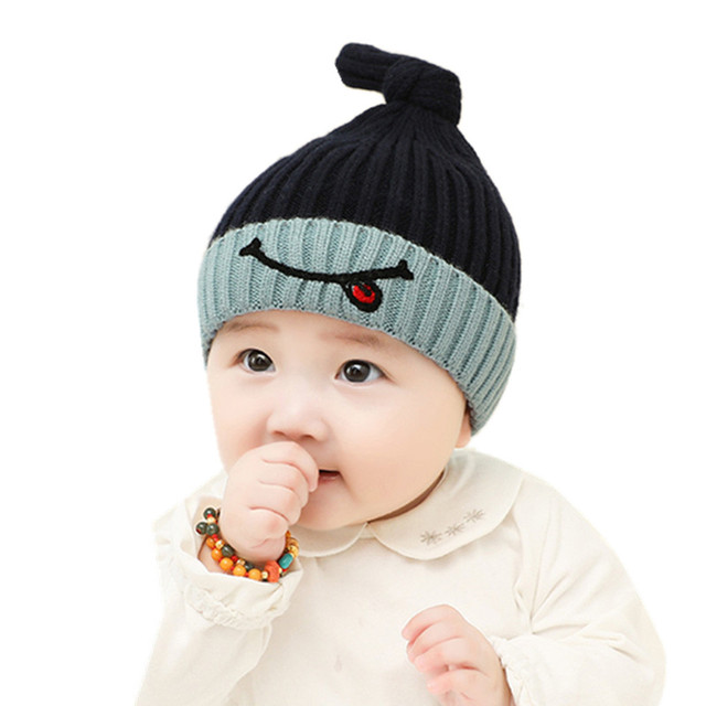 59d2b19ccd4 cute Baby Hat Cotton Beanie Cap Toddler Infant Baby Girls and Boys Knitted  Hats Kids Hats   Caps baby cap new items 2018  T513